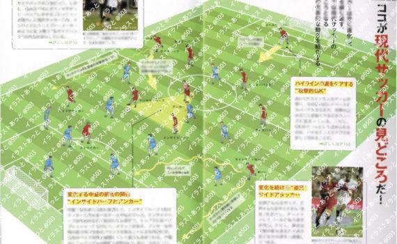 サッカー ワールドカップ イラスト 漫画