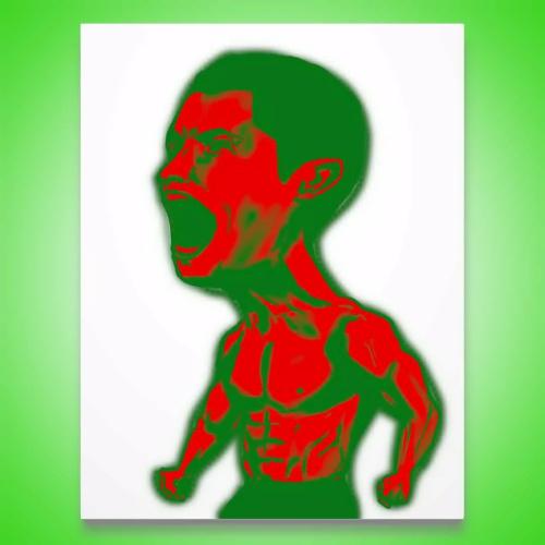 iPad 似顔絵 クリスティアーノ・ロナウド Cristiano Ronaldo portrait