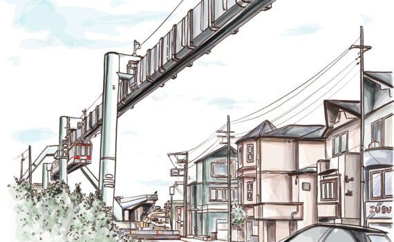 湘南モノレール,iPadPro