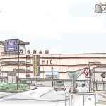 iPad 風景画 和歌山駅