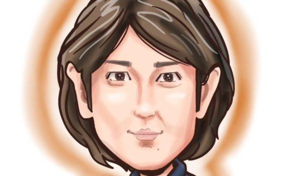似顔絵 ipadPro 田中直樹