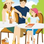 ある初夏の家族