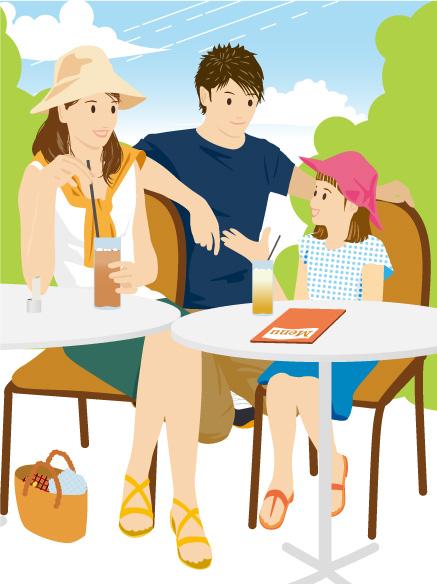 家族とお茶