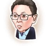 iPad 似顔絵 古舘伊知郎
