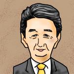 ipadで描いた安倍晋三さん