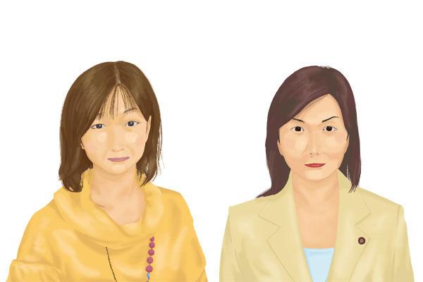 大久保佳代子さんと森ゆう子さん