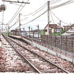 富山地方鉄道 新庄田中駅