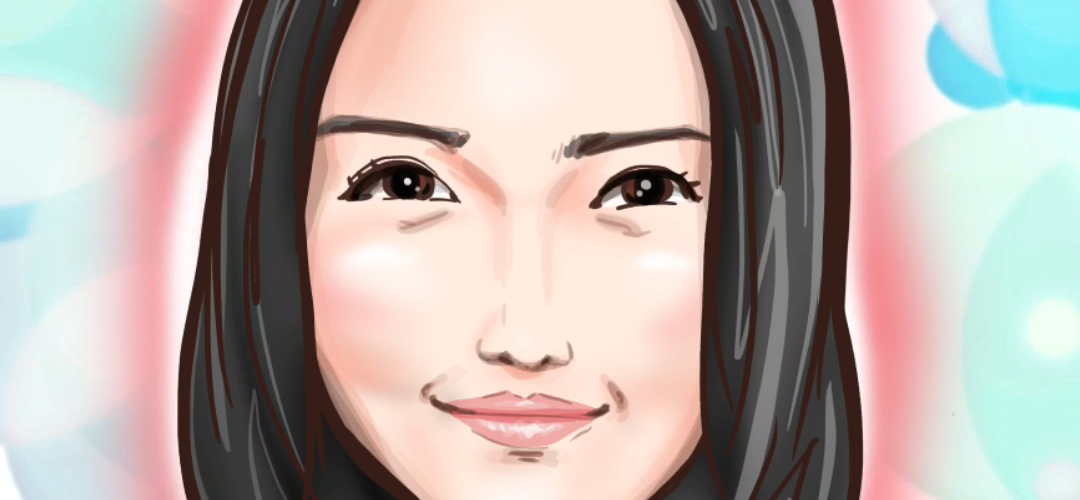 似顔絵 iPadPro 仲間由紀恵